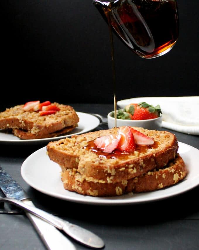 Bánh mì chay kiểu Pháp