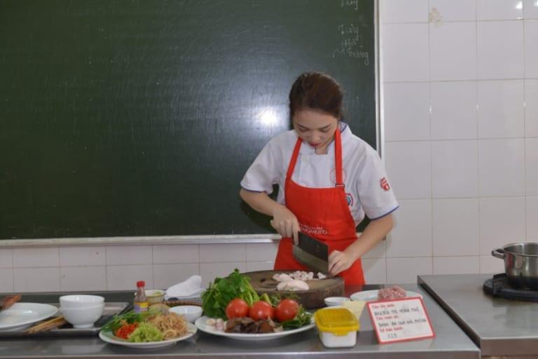 học nấu ăn chay ở đâu