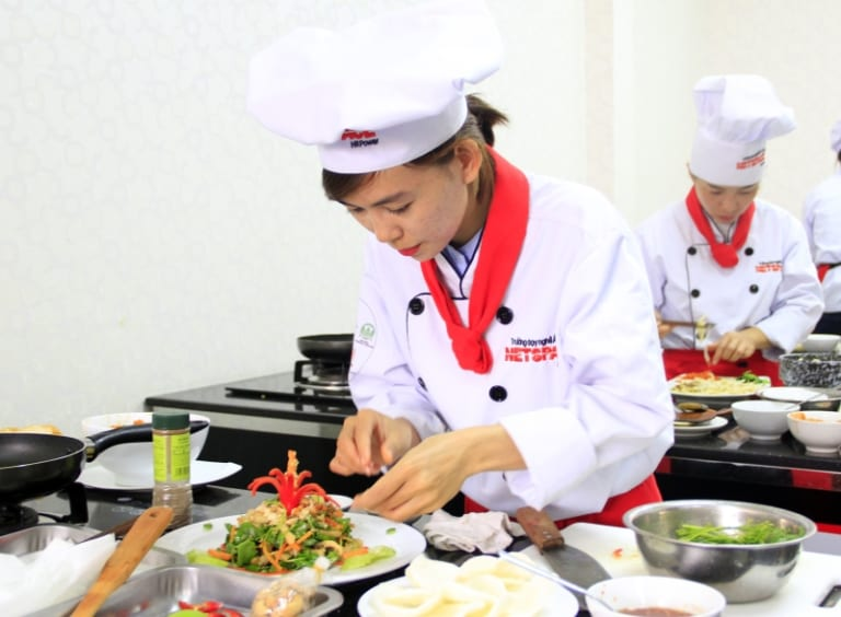 học nấu ăn chay ở hà nội