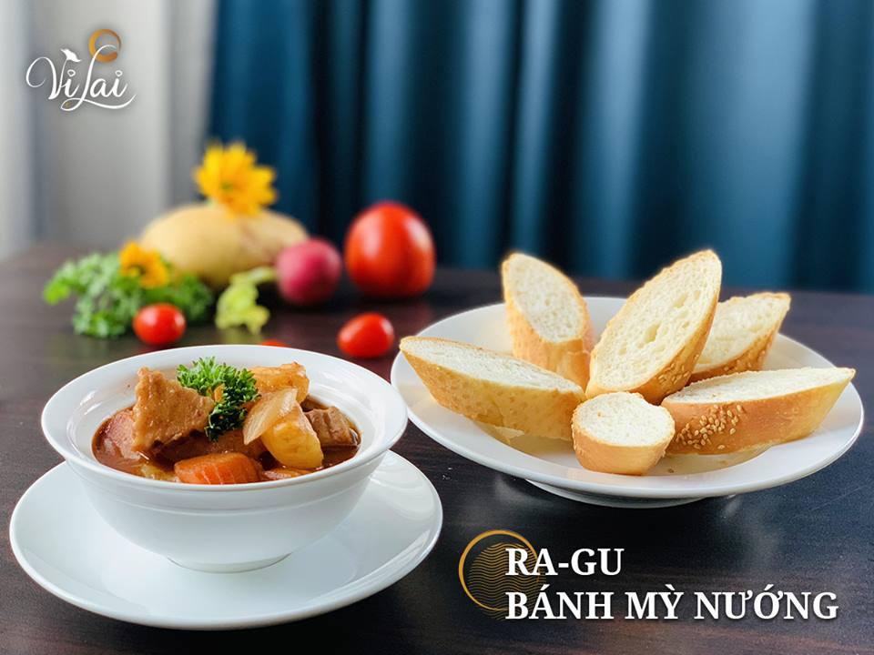 Ragu - Bánh mì chay Hà Nội tại Vị Lai